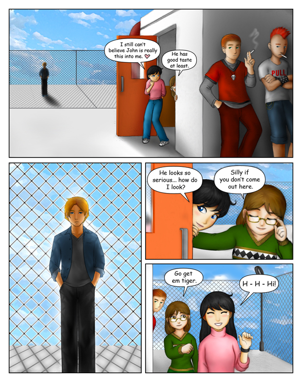 """""""A Duel of Hearts"""" Page 3"""