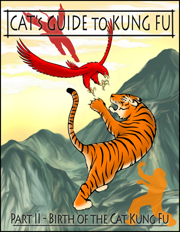 """""""Birth of the Cat Kung Fu"""" Cover Page"""
